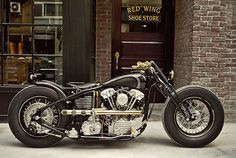 Rough Crafts x Zero Engineering Custom Harley Knucklehead | LuxScene #motorcycle