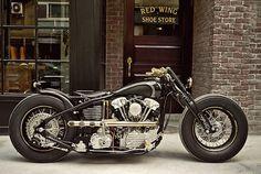 Rough Crafts x Zero Engineering Custom Harley Knucklehead | LuxScene #motorcycle