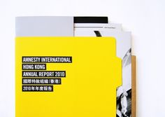 Amnesty International Hong Kong Annual Report 2010 on the Behance Network