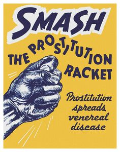 SMASH #print #design #poster #prostitution