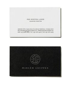 Harlem Gourmet #business #branding #id #card #logo #layout