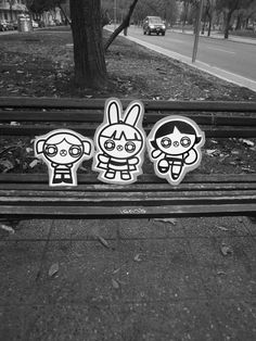 Street Animals, Street 2 on Behance #illustration #girls #cardboard #powerpuff