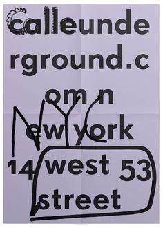 HORT — High-res Special | September Industry #branding #flyer #short #super grotesk