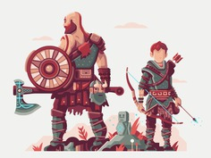 Warriors of Midgard by Matt Anderson