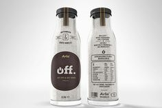 off. on the Behance Network #packaging #design #bottle