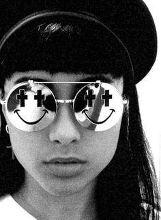 FFFFOUND! #fashion #glasses #cross