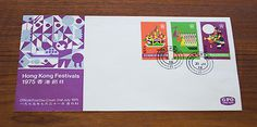 hong kong festivals stamps #design #graphic