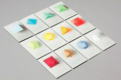 Calendar 2012 design and promotion by Lo Siento studio Barcelona #losiento #calendar #geometry