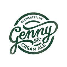 Genny Cream Ale Logo #logo