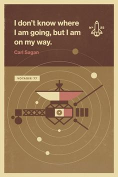 Wander Blog #post #carl #nasa #space #voyager #wander #eric #rocket #sagen #onwander #mortensen