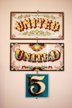 All sizes | Josh Luke | Flickr - Photo Sharing! #sign #type #painting #typography