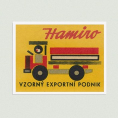 Hamiro. Exemplary export business. (Czechoslovakia)