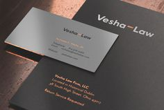 Vesha – Law by For Brands #branding #staionery