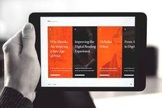 Verso – Digital Magazine on Behance #type