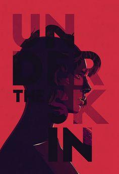 Under the Skin – Alternative Movie Poster by fourteenlab