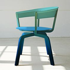 Bikini Wood by Werner Aisslinger for Moroso #chair #gradient