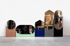 sylvain willenz: shapes mirrors for hay #mirrors