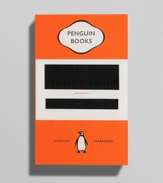 Creative Review Orwell, covered up #orwell #bookcover #penguinbooks