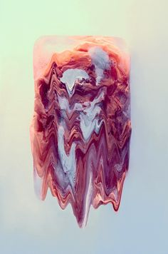 ICE COLOR Studio l' Etiquette #pink #clour #paint #ink