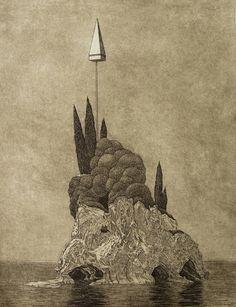 Tristram Lansdowne - Outpost | 5 Pieces Gallery - Contemporary Fine Arts & Photography #art #artist #prints