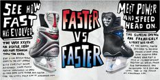 Nike Bauer - Harsky #hockey #handwritten #ad