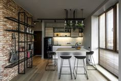 Me2architects Turned Apartment into Exclusive Home for a Young Man - InteriorZine #decor #interior #home #small #apartment