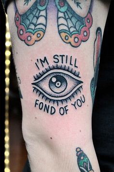 never enough stippled morrissey tattoos.thank you mike adams nyc #eye