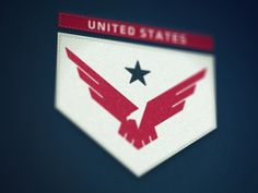 Dribbble - United States by Fraser Davidson #badge