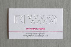 Tommy paperkut bc gif 2 #creative #cut #business #design #paper #craft #gif #papercraft #cards