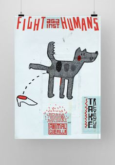 Animal Guerilla on Behance #animal #poster