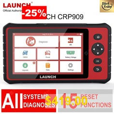 Launch #X431 #Full-System #Diagnostic #Tool #CRP909 #OBD2 #Scanner #7inch #Car #Auto #Diagnostic #Scanner #SRS