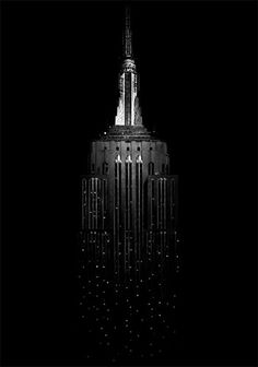 Sara Lindholm - theblackworkshop: Empire State Building, 2008