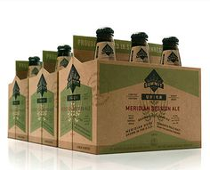 Summit Brewing Meridian Ale #packaging #beer