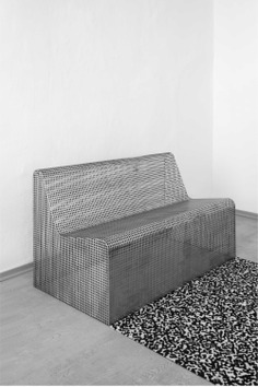 Cage Bench by Klemens Schillinger