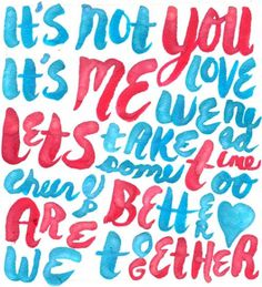 We Love Typography #love