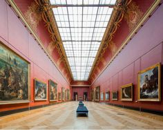 Le Louvre by Franck Bohbot #inspiration #photography #architecture