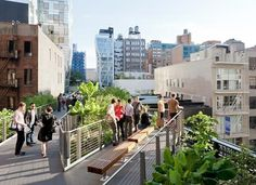 Dezeen » Blog Archive » The High Line Section 2 opens #line #park #people #railway #york #high #new