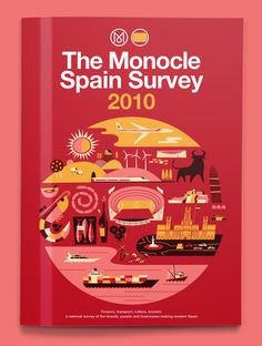 Monocle Spain Survey #illustration #monocle