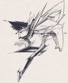 character design influenced by graffiti #sharp #tan #graffiti #hui #design #illustration #crazy #man #zhi #character