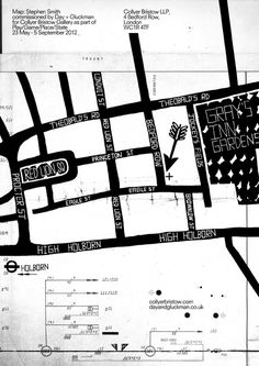 Play/Game/Place/State   Neasden Control Centre #design #graphic #type #maps #typography