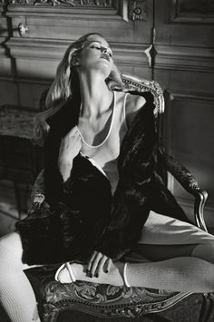 Erin Heatherton by Koray Birand for Elle Russia