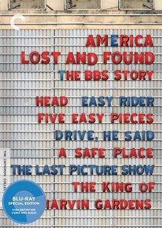 America Lost and Found: The BBS Story - The Criterion Collection #film