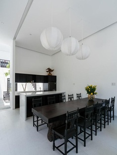 Vietnamese Family Home Featuring an Inspiring Mix of Traditional and Modern 4, dinning room