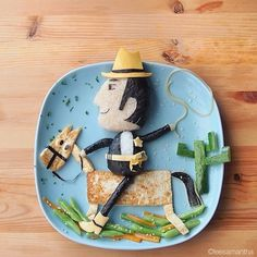 4b0ba0da7c5411e396de1272f6124746_8 #kids #fun #cowboy #food