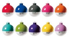 Pantone Balls christmas decorations #christmas #pantone #decorations