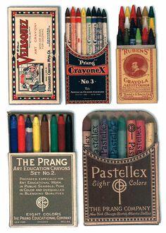 tumblr_l1wr5b8Ss01qz6f9yo1_500.jpg (JPEG-Grafik, 500x700 Pixel) #crayons #retro #package