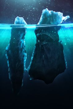 Caustic Icebergs on Behance #5t4y54y