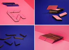 Oblique Dominoes by Paul Smith x DWS x Graphical House #smith #toys #domino #paul