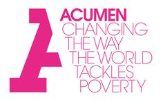 Creative Review - The business of Acumen #acumen