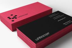 onestepcreative » Whitescape Identity System #card #business